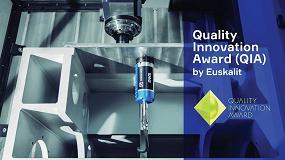 Foto de Soraluce galardonado en el Quality Innovation Award por el sistema DWS