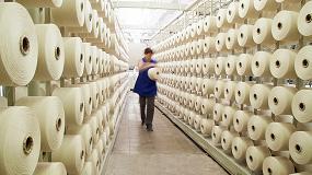 Foto de Más de 1 millón de m² de tejido antiviral de Hispano Tex para confección de mascarillas