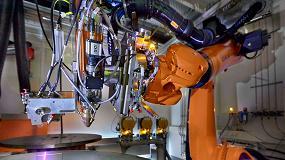 Foto de Proyecto 'ProLMD': producción híbrida de grandes componentes por deposición de metal por láser
