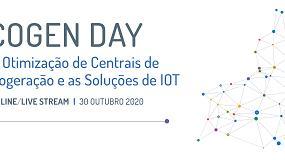 Foto de Cogen Day debate este ano o tema da 'otimização de centrais de cogeração e as soluções de IoT'