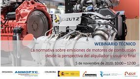 Foto de Webinario sobre la normativa de emisiones de motores (fase V)