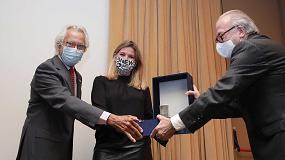 Foto de Blanca Sorigué se convierte en la primera mujer que recibe el Lingote de Plata de la Logística
