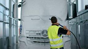 Foto de ISTOBAL desarrolla una nueva línea para la higienización integral de vehículos industriales