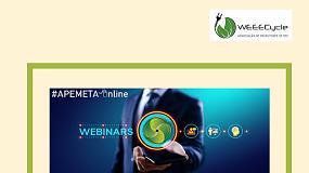 Foto de WEEECYCLE participou em webinar da Apemeta sobre Equipamentos Elétricos e Eletrónicos
