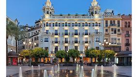 Foto de Herrajes de Giesse en la reconversión de la casa Colomera de Córdoba en hotel