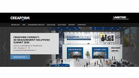 Foto de Creaform celebrará su feria virtual 'Creaform Connect: 3D Measurement Solutions Summit' en noviembre