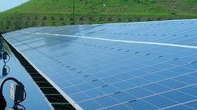 Foto de Central fotovoltaica da central de valorização orgânica já produziu cerca de 234 MWh de energia renovável