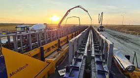 Foto de Moldtech instala en Rumanía una mega planta móvil para la construcción de carretera y puentes