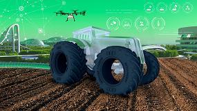 Foto de El tractor del futuro será una incubadora de datos conectada al mundo