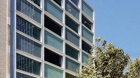 Foto de Wictec EL, de Wicona, en las fachadas modulares del edificio WIP