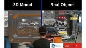 Foto de Visión artificial y realidad aumentada para la optimización del sector de los moldes