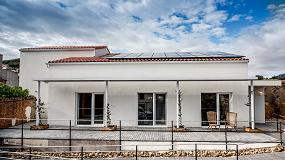 Foto de Rehau y sus cerramientos Geneo PHZ en un ECCN Passivhaus Premium