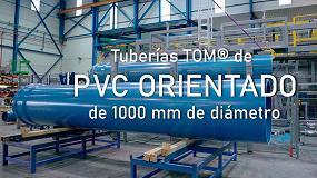 Foto de Molecor amplía su gama de Tuberías de PVC Orientado con el lanzamiento de la tubería TOM de 1000 mm de diámetro