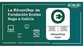 Foto de La iniciativa #GreenShop, promovida por Fundación Ecolec, llega a Galicia con 27 comercios adheridos de la mano de Acema