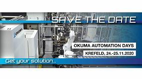 Foto de Okuma Europa celebrará los 'Días de la Automatización 2020' de manera presencial en noviembre