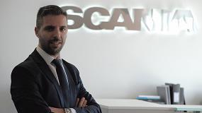 Foto de Alberto Linares, nuevo director de Logística y Preventa de camiones y autobuses de Scania Ibérica