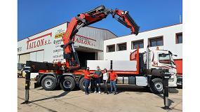 Foto de Palfinger y Talleres Tailon hacen entrega en León de la poderosa grúa PK 110002 SH