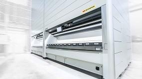 Foto de Koenig & Bauer automatiza su almacén con la solución SSI Logimat de SSI Schaefer