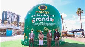 Foto de Málaga acoge la campaña 'Andalucía recicla vidrio a lo grande'