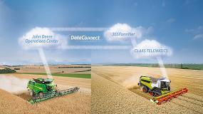 Foto de Disponible DataConnect, que habilita el intercambio de datos entre Claas, John Deere y 365FarmNet