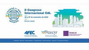 Foto de 'La Calidad del Aire Interior es Salud', lema del II Congreso Internacional del Calidad de Aire Interior- CAI 2020