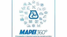 Foto de Mapei se considera proveedor integral destacado del sector de la construcción