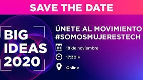 Foto de H+K España e Innovadores by Inndux celebran '#SomosMujeresTech Big Ideas 2020'