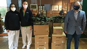 Foto de Projar dona material sanitario en dos residencias de mayores de Chiva y Buñol