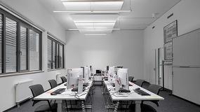 Foto de Luminarias inteligentes, eficientes y seguras para el Campus Erlangen Siemens de Alemania