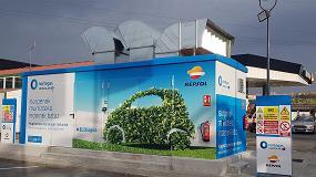 Foto de Gas & Go Global Services construye el nuevo punto de repostaje de GNC de Repsol en Vizcaya