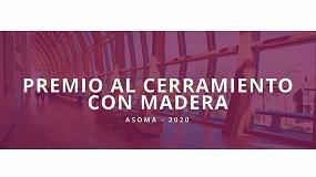 Foto de Se abre la convocatoria al 'Premio Asoma al mejor cerramiento con madera 2020'