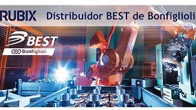 Foto de Rubix se convierte en distribuidor BEST de Bonfiglioli para ofrecer un servicio más completo a sus clientes