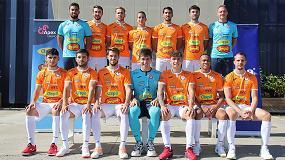 Foto de Palletways Iberia, patrocinador del equipo de Fútbol Sala 'Ribera de Navarra'