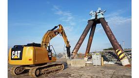Foto de Nuevos martillos hidráulicos Cat de la Serie GCS: más eficiencia y menores costes