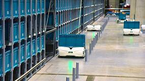 Foto de Skypod, una solución disruptiva de robótica móvil