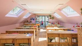 Foto de Velux favorece la ventilación natural en los colegios para prevenir el contagio y mejorar el rendimiento escolar