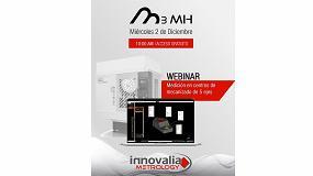Foto de Innovalia organiza un webinar sobre M3MH, el software de medición en centros de mecanizado de 5 ejes