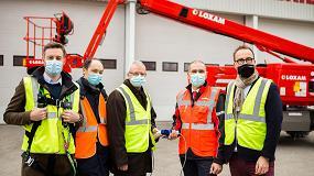 Foto de Haulotte da soporte al Grupo Loxam en su proceso de transición energética