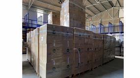 Foto de Fal Calzados de Seguridad dona 4.000 pares de calzado para personas refugiadas