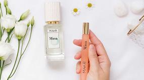 Foto de MAAR fragrances, una marca de perfumería natural, vegana y sostenible