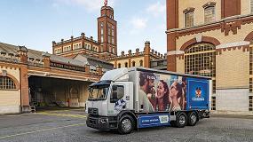 Foto de Renault Trucks acompaña al Grupo Calsberg en su objetivo de distribución neutra en Carbono