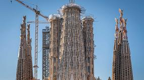 Foto de LuxPrint, de Sevasa Technologics, en la Sagrada Familia