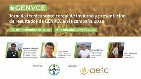 Foto de Genvce presenta los resultados de los ensayos con cereal de invierno de la campaña 19/20