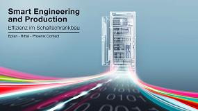 Foto de Eplan, Rittal y Phoenix Contact establecen los estándares para la industrialización de la fabricación de armarios de control