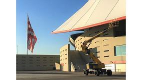 Foto de Mateco colabora en el mantenimiento del Estadio Wanda Metropolitano