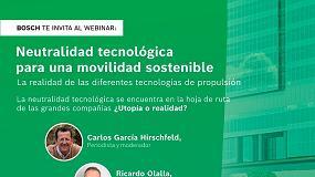 Foto de Bosch debate neutralidade tecnológica para uma mobilidade sustentável