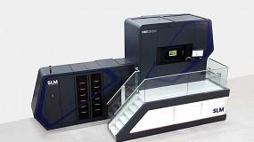 Foto de SLM Solutions lanza una máquina de fabricación aditiva de metal de 12 láseres