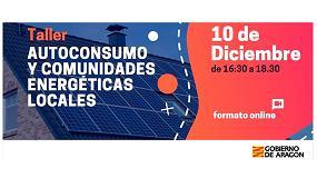 Foto de El Gobierno de Aragón organiza un taller sobre autoconsumo y comunidades energéticas