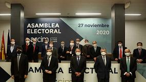 Foto de Luis Collado, reelegido presidente de la patronal del metal de Madrid (AECIM)