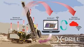 Foto de X-Drill, innovación del año en Maxam